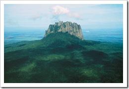 El Cerro de Bernal de Horcasitas, en Tamaulipas