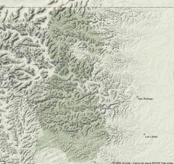 Sierra del Burro