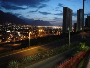 Vista de San Pedro Garza García, desde la oficina.